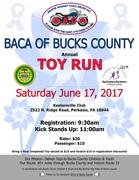 BACA of Bucks County Toy Run 2017