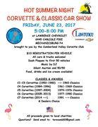 HOT SUMMER NIGHT CORVETTE AND CLASSIC CAR SHOW