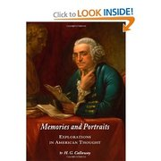Book Signing: Memories and Portraits: Explorations in American Thought
