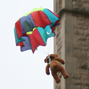 Parachuting Teddy Bears! Fundraiser