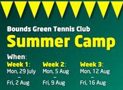 Kids Tennis Summer Camp