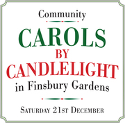 Community Carols by Candlelight Finsbury Gardens