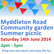Myddleton Road Garden Community Picnic