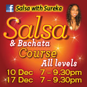 Salsa With Sureka- Salsa & Bachata Special End of Year Course!