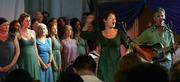 LIVE! Songlines Choir sings at Karamel Restaurant, N22