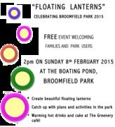 Floating Lanterns in Broomfield Park