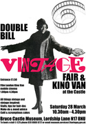 DOUBLE BILL: Vintage Fair and Kino Van at the Castle