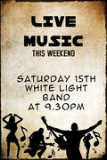 White Light Band at The Springfield Saturday 15th