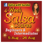 BEGINNERS AND INTERMEDIATES 4 week SALSA COURSE!
