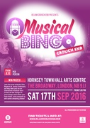 Musical Bingo - Oxjam Crouch End