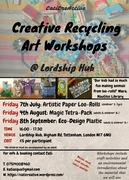Creative Recycling Art Workshop - Loo-Rolls Paper Session (3-7yrs)