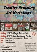 Creative Recycling Art & Craft: Magic Tetrapack!