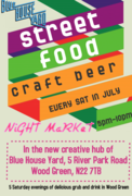 Blue House Yard Night Market - Saturdays in July