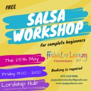 Free Salsa Workshop For Complete Beginners