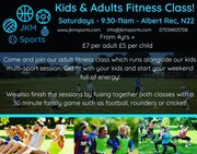 Adults and Kids Fitness Class! Every Sat morning at Albert Rec!