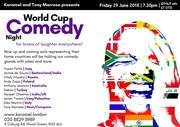 World Cup Comedy Night at Karamel
