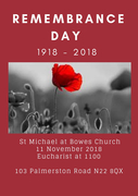 Remembrance Sunday Service at St Michael at Bowes