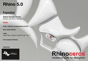 Presentación Rhino 5.0 Universidad Jorge Tadeo Lozano Bogotá