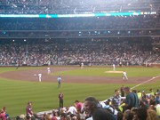 Mets game against the Phillies