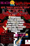 2011 Rock Revival Tour presented by TzMR Records, St Judes Hospital, Beach92.7fm @ Sick Boys Lounge
