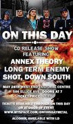 On This Day CD Release Show w/Annex Theory, Long Term Enemy & S.D.S