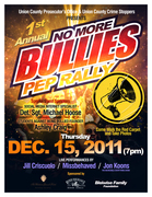 """Jill Criscuolo Live @ The Union County Performing Arts Center NJ - UCPO """"No More Bullies Pep Rally"""""""