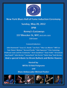 NY Blues Hall of Fame Induction Ceremony