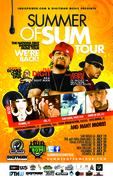 SUMMER OF SUM TOUR 2012