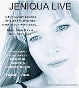 JENIQUA LIVE... @ THE STAR CASINO, SYDNEY