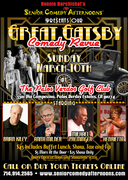 Bonnie Barchichat's Senior Comedy Afternoons  GREAT GATSBY COMEDY REVUE
