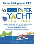 Paper Yacht Challenge coming to the Port of LA