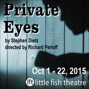 Private Eyes By Steven Dietz