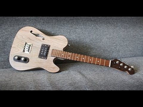 Ukulele Tenor Hollow Body Telecaster style electric guitar