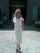 Terri Nobleman portraying Ms. Julia  at The Elms Mansion shoot