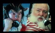 Santa Claus in Krampus with Justin Roig as Krampus