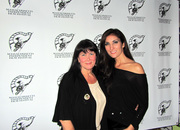 With Christine Hunt at the Massachusetts Independent Film Festival
