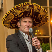 Erik with Mexican hat