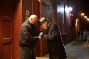 William Xifaras and Harvey Keitel in By The Gun