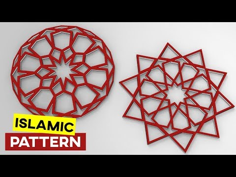 Simple Islamic Geometric Pattern