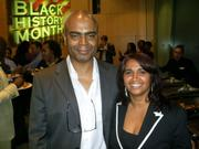 Orin Lewis, Co-Founder & Chief Executive of ACLT with Paulette West MBE
