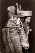 Navajo mother and child