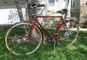1974 Raleigh Sprite 10 Speed Carmine