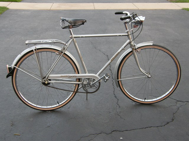 1976 Raleigh Sports Silver
