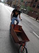 Cruisin' the cargo Bike
