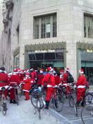 Santas at the Radio Station
