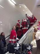 Santas at Macy's