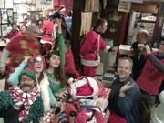Santas at the Billygoat