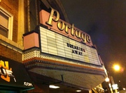 Portage Theater Marquee