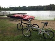 Dahon at Herrick Lake