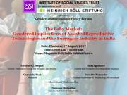 Invitation to XXIII Gender and Economic Policy Discussion Forums, August 3, 2017